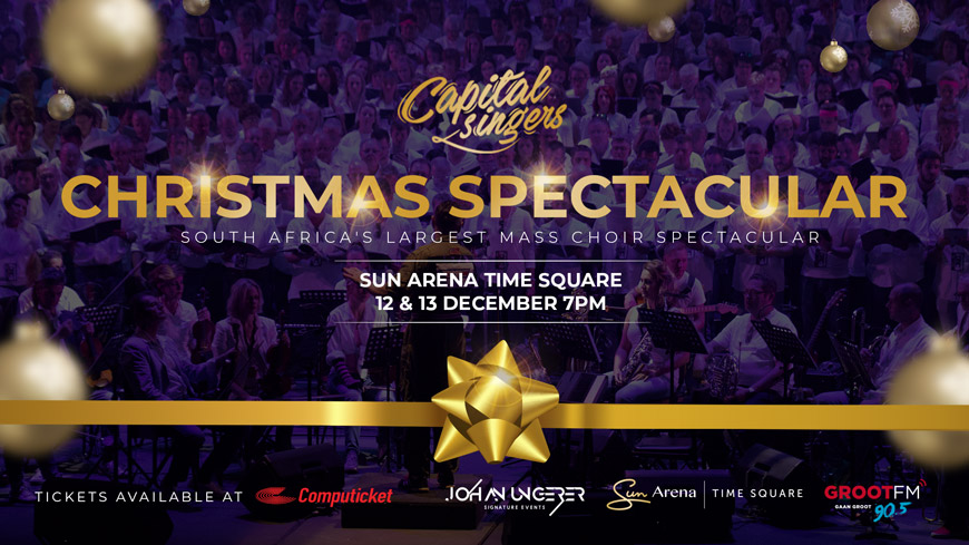 Capital Singers - Christmas Spectacular December 2018