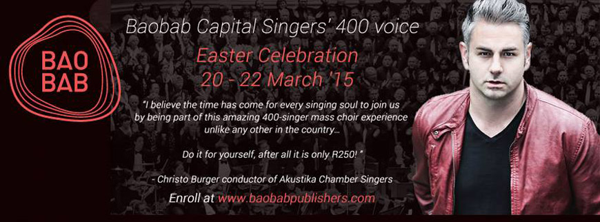 Capital Singers - Easter Celebration - 20, 21 & 22 March 2015